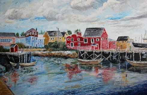 Harbour at Lunenburg